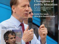 October 2018 Ohio Schools Magazine Cover