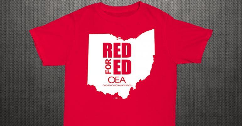 RedforEd t-shirt