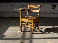 Image: Vintage Wooden Desk