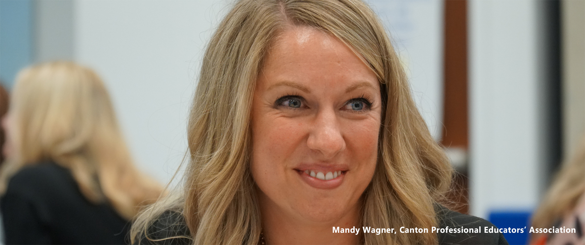 Image: Mandy Wagner, Canton Professional Educators' Association